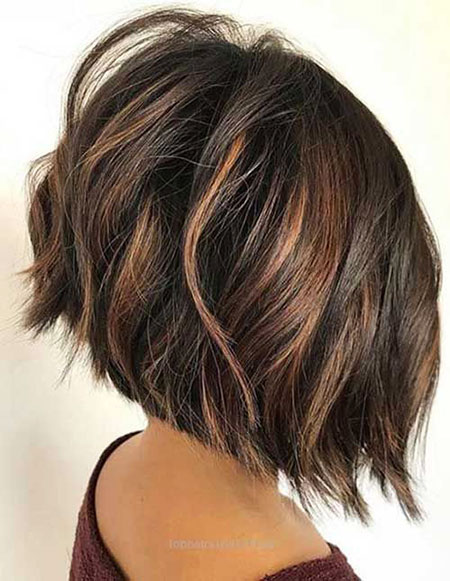 Bob Hair Balayage Brown