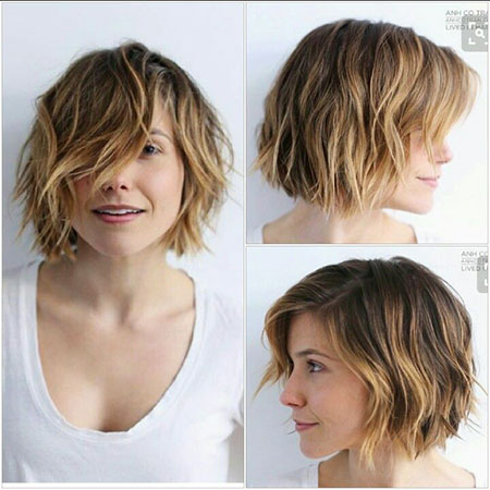 Choppy Hair, Short Bob Hairtyles Hair