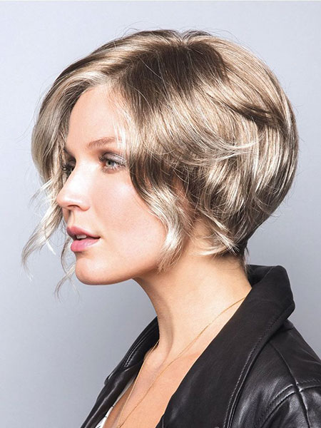 Layered Wavy Bob, Short Haircuts Hair Rae