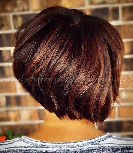 Brown Hair, Bob Hair Brown Balayage