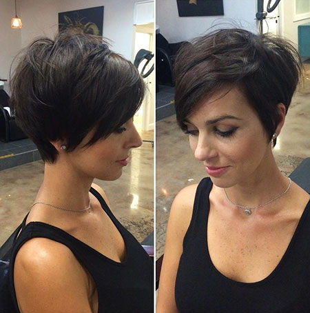 Layered Hair, Pixie Short Hair Layered