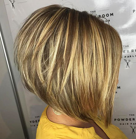 Short Layered Bob, Layered Bob Short Blonde