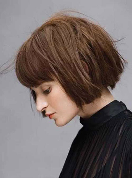 Blunt Bob Hair, Short Bob Blunt Bangs