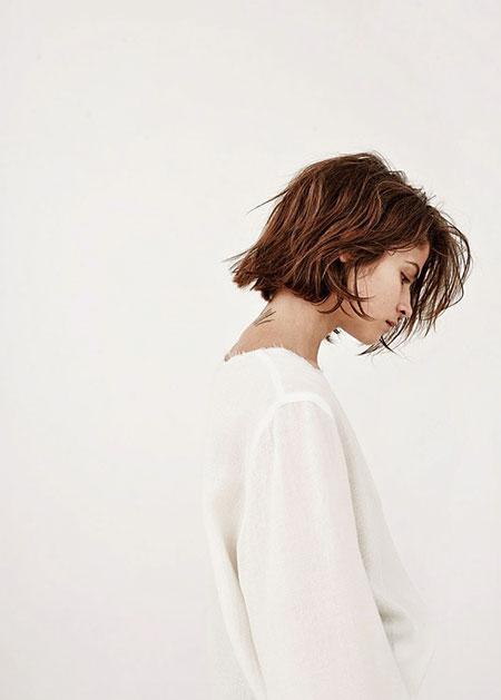 Girl Hair, Short Bob Hair Boho