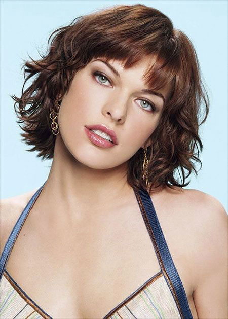 Milla Bangs Jovovich Hair