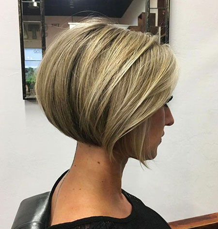 Bob Short Blonde Layered