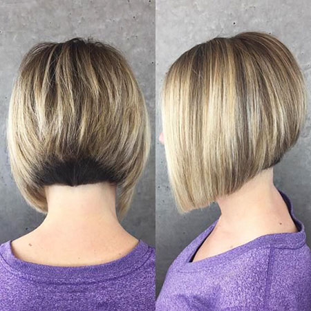 Bob Bronde Stacked Undercut