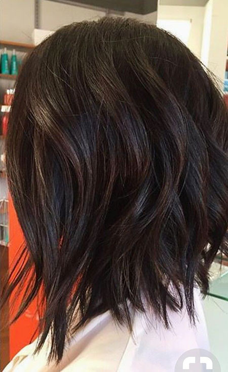 Bob Hair Layers Brown