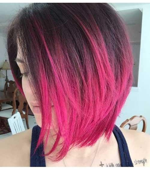 Pink Bob Haircuts-13