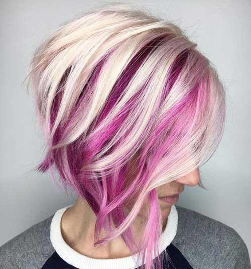 Pink Bob Haircuts-6