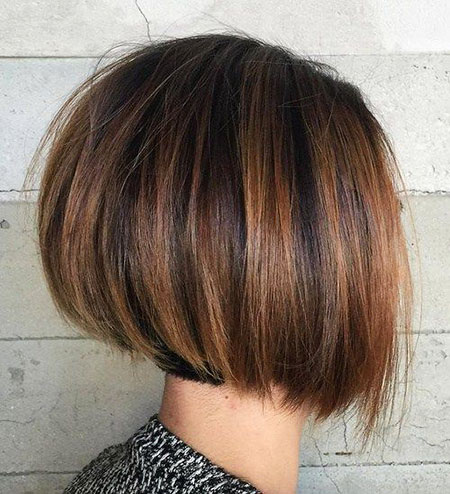 Bob Haircut for Thick Hair, Bob Hair Thick Brown