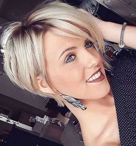 Bob Hairtyle for Older Ladies, Short Hair Haircuts 2017