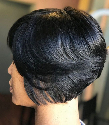 Bob Layered Black Women