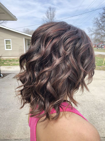 Hair Balayage Length Brown
