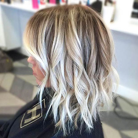 Blonde Balayage Hair Bob