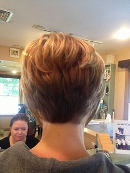 Super Short Stacked, Short Stacked Hair Bob