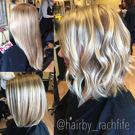 Blonde Hair Balayage Color