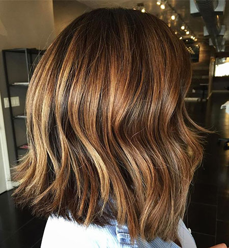 Balayage Brown Bronde Highlights