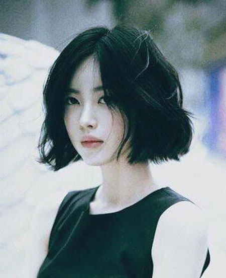 Girl Bob Short Ulzzang
