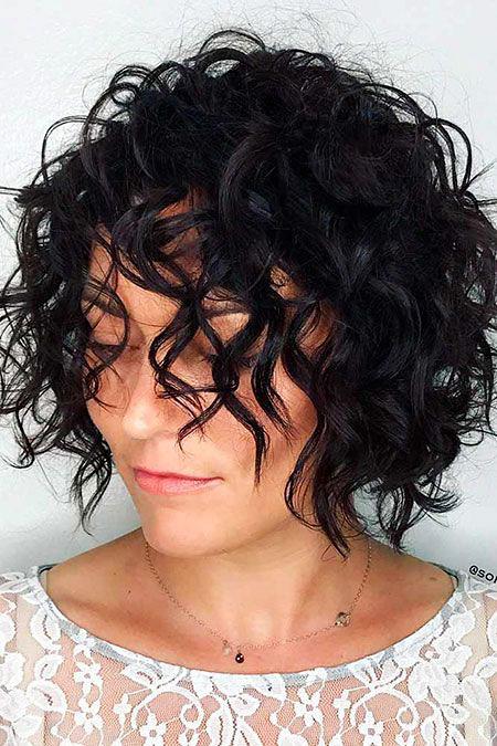 Bob Curly Hair Short