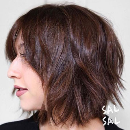 Shag Short Bob Brown