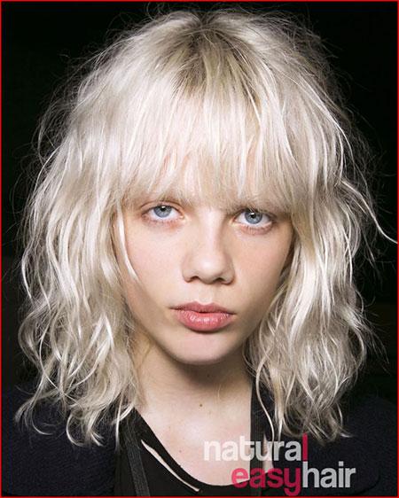 Hair Gray Shag Hairtyle