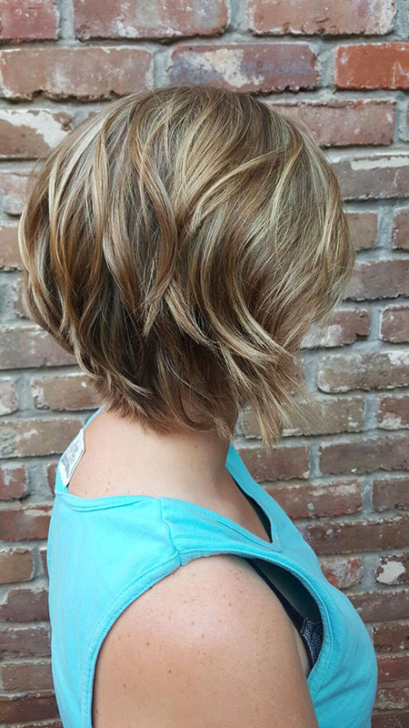 Short Bob Layered Hairtyles