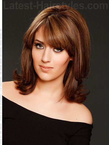Hair Medium Length Layered