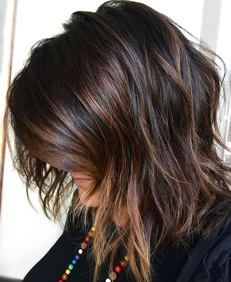 Highlights Brown Bob Black