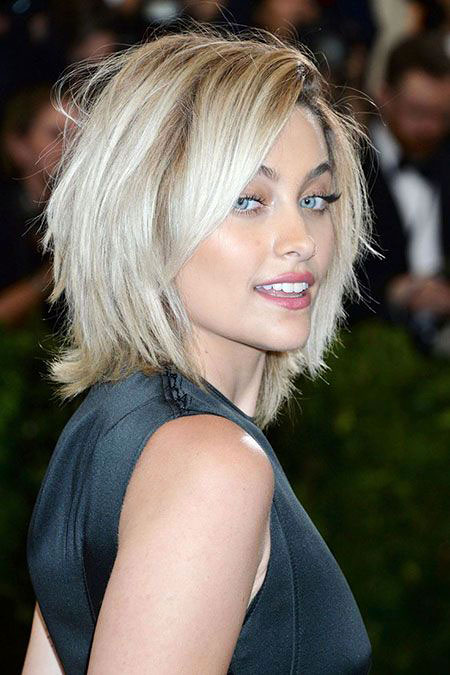 Paris Jackson, Bob Short Hairtyles Fine