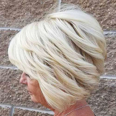 White Blonde, Blonde Balayage Layered Choppy