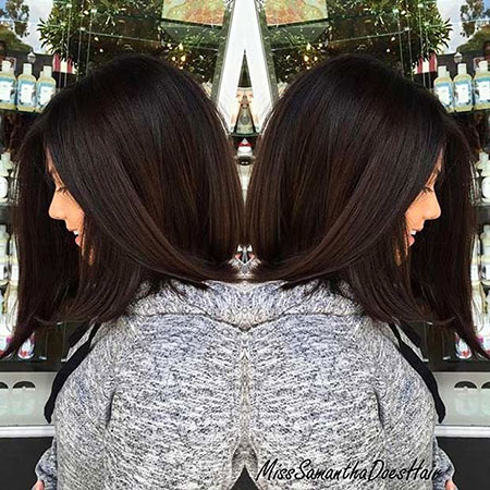 Thick Wavy Hair, Hair Length Shoulder Bob