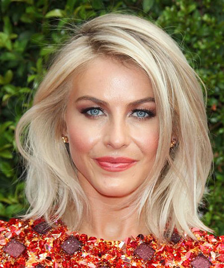 Julianne Hough, Hair Blonde Medium Length