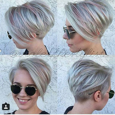 Undercut for Women, Short Bob Stacked Undercut