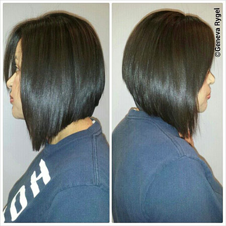 Bob Long Hair Sleek