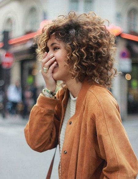 Curly Hair Short Curls