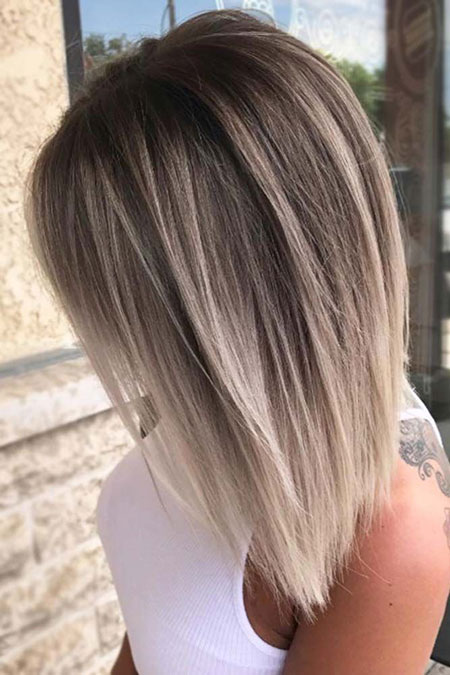 Blonde Balayage Layered Hair