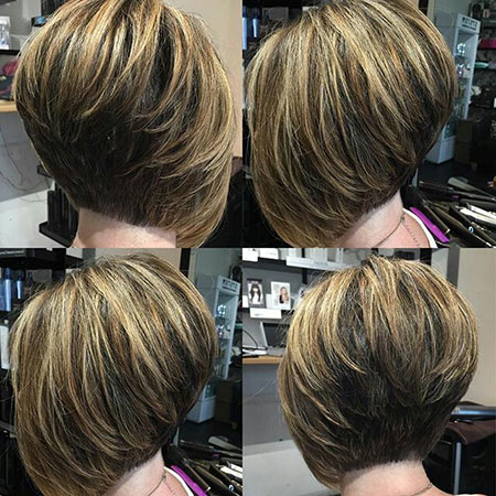 Bob Short Angled Layered