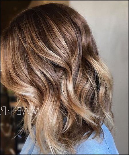 Balayage Brown Hair Light