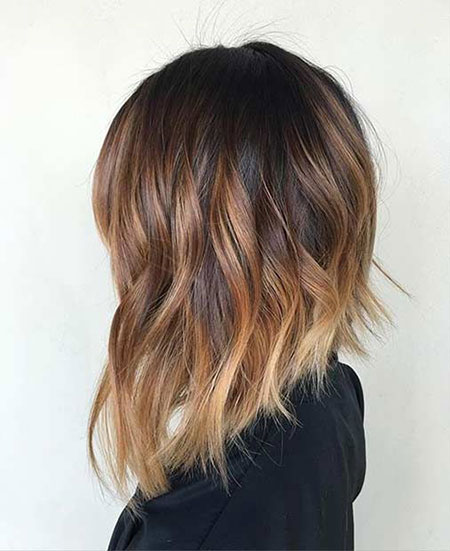 Balayage and Ombre, Balayage Hair Bob Long