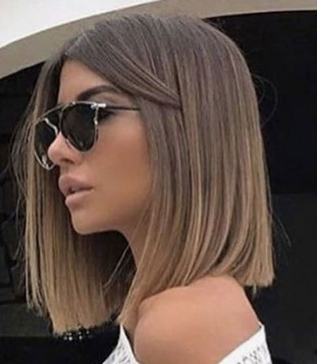 Blunt Cut Lob, Hair Bob Hairtyles Length
