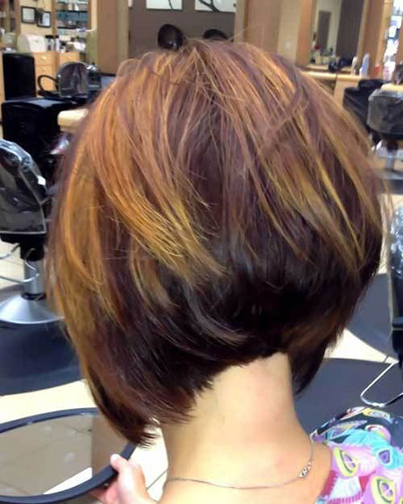 Bob Short Hair Stacked