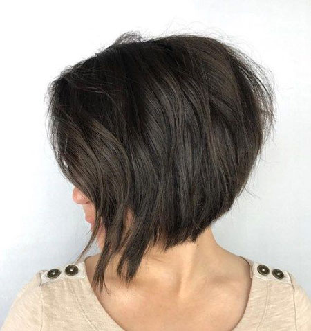Bob Length Brown Layered