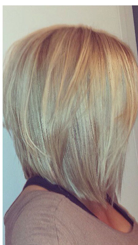 Long Inverted, Bob Blonde Bobs Medium