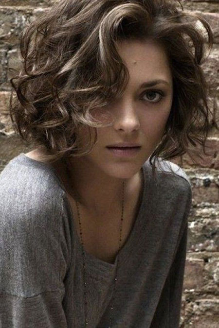 Curly Hair, Curly Short Hair Bobs