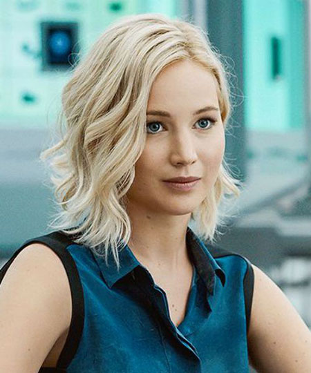 Jennifer Lawrence Bob Cut, Hair Lawrence Short Blonde