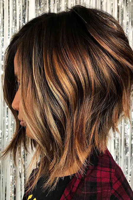 Hair Balayage Length Inverted