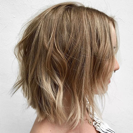 Bob Shag Dark Blonde