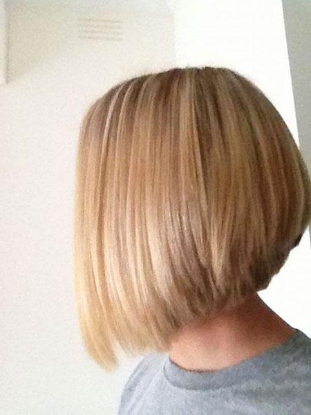 Blonde Bob Hair Bone