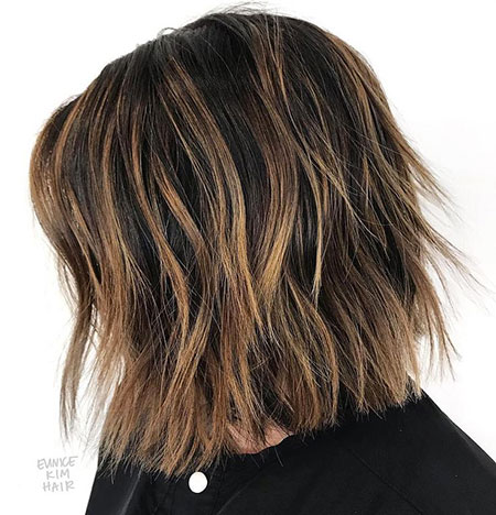 Length Bob Choppy Medium